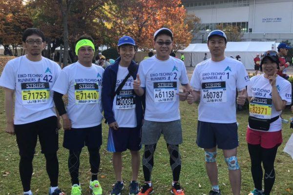 平成30年11月11日岡山マラソン